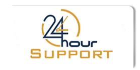24hoursupport logo shadow