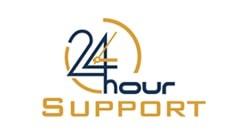 24HourSupport Broadband Support Logo