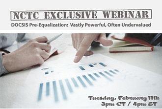 nctc webinar docsis preequalization date