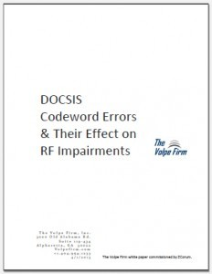 docsis codeword errors white paper main