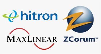 hitron maxlinear zcorum logo