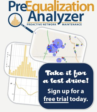 Pre-Equalization Analyzer Trial