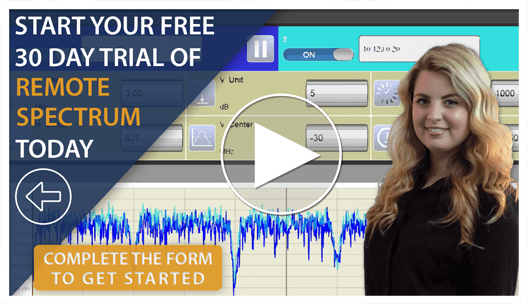 Remote-Spectrum-Free-Trial