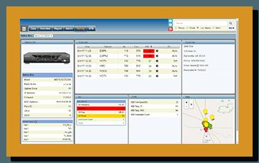 SetTop VU STB Diagnostics Screen Shot