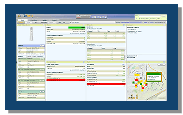 TruVizion Modem Diagnostics Screen