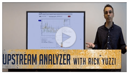 upstream analyzer rick play button main
