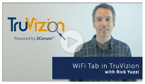 TruVizion WiFi Tab In-Home Diagnosing