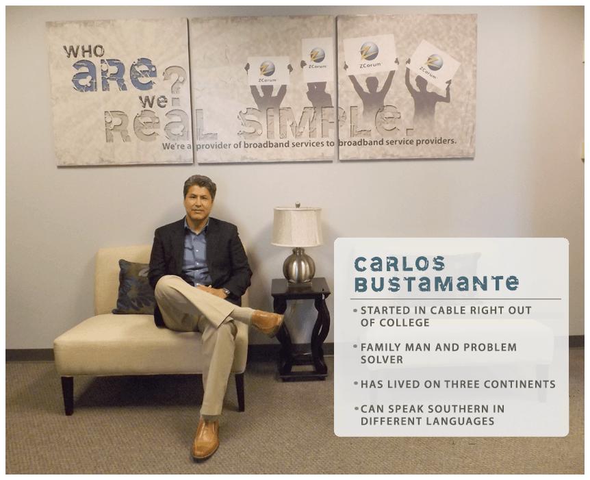 Carlos Bustamante Bio Header