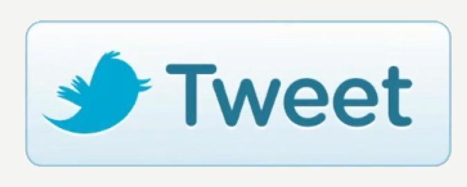 tweet twitter button