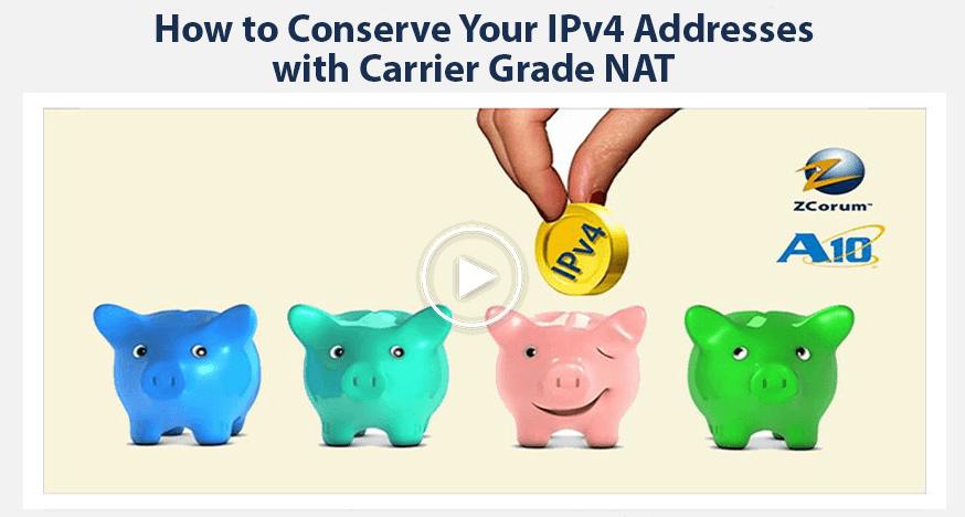 conserve ipv4 addresses webinar play button