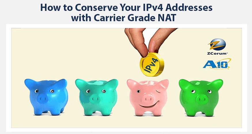 Conserve IPv4 Addresses Webinar