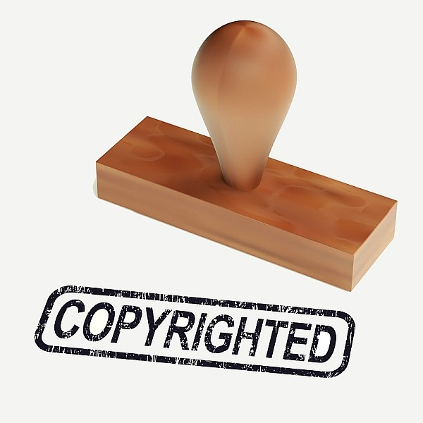 DMCA deadline copyright rubber stamp border