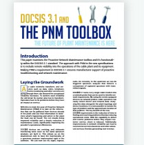 proactive network maintenance toolbox white paper cover