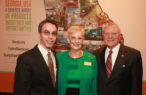 globe awards rick yuzzi governor and mrs deal