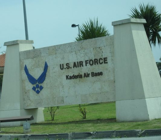 kadena air force base sign press release