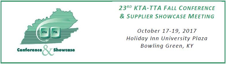 KTA-TTA Fall Conference Logo