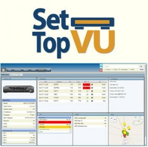 SetTop Vu Diagnostics Screen