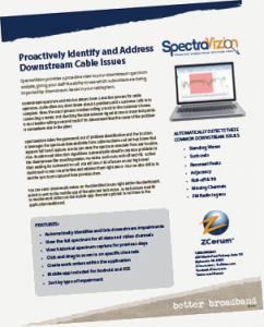 proactive downstream analysis product sheet cover