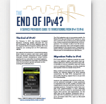 service provider ipv6 transition white paper