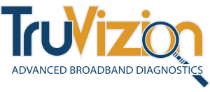 TruVizion Broadband Diagnostics Logo
