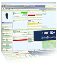 truvizion modem diagnostics screen reflect