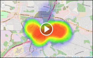 truvizion outage heat map play button