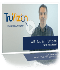 home WiFi diagnostics TruVizion