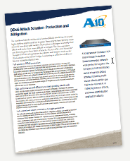 A10 DDoS Product Sheet
