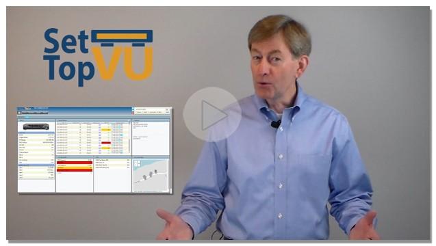 Set-Top VU Video Diagnostics Play Button