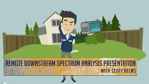 remote spectrum presentation animated