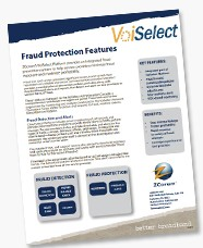 voiselect fraud protection product sheet