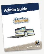 remote spectrum admin guide cover