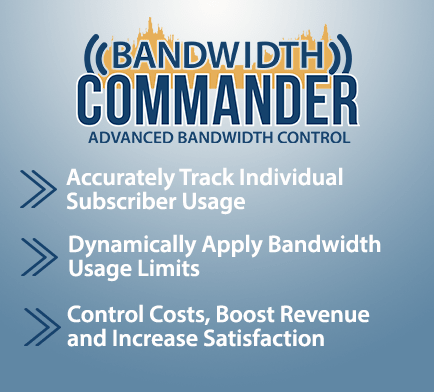 Bandwidth Commander Mobile Slider Static Image