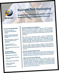 Business Text Messaging Product Sheet