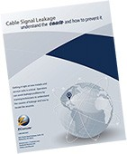 Cable Signal Leakage Tilted Thumb