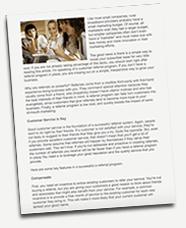 customer referrals blog