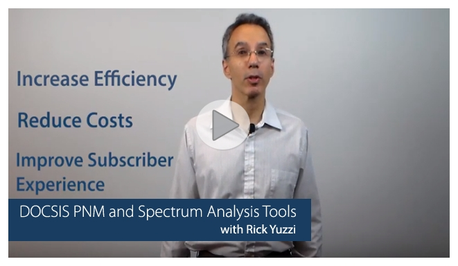 DOCSIS PNM and Spectrum Analysis Tools