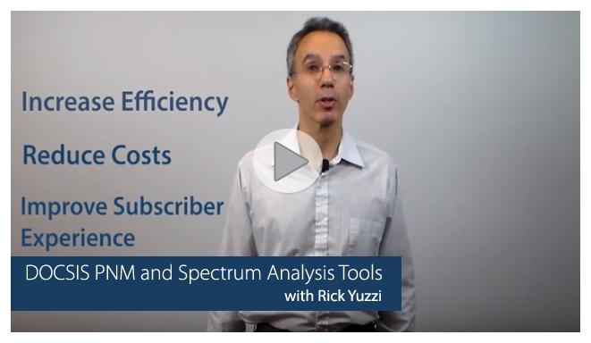 DOCSIS PNM and Spectrum Analysis Tools