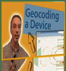 Geocoding Device in TruVizion