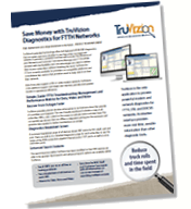 GPON Diagnostics TruVizion Product Sheet Thumbnail