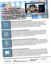IPTV Product Sheet Thumnbnail