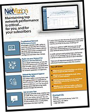 NetVizion Network Management Software Product Sheet Thumbnail