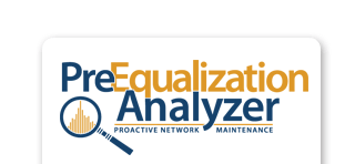 preequalization analyzer slider logo