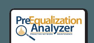 preequalization analyzer slider logo