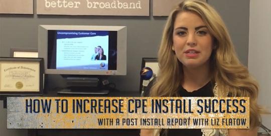 CPE Installation TruVizion Post-Install Report