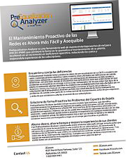 PreEqualization Analyzer Spanish Product Sheet Thumbnail Tilted