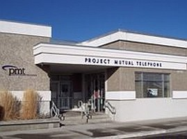 project mutual telephone building front