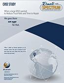 remote spectrum analyzer case study