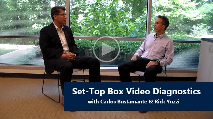 Set-Top Video Monitoring Diagnostics