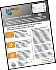 SetTop VU TV Analytics Product Sheet Thumbnail Tilted Updated